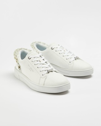 Ted Baker Ruffle Detail Trainers