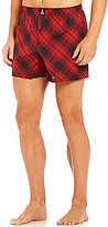 Psycho Bunny Woven Plaid Printed Boxers