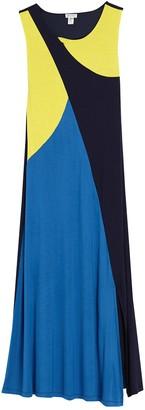Spense Colorblock Sleeveless Maxi Dress