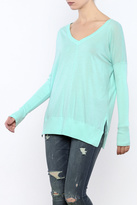 Bobi Rib Mix Long Sleeve Tee