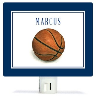 Oopsy Daisy Fine Art For Kids Personalized Sports and Games Basketball Canvas Night Light