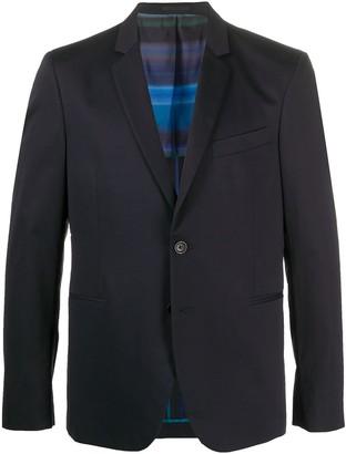 Paul Smith Long Sleeve Front Button Blazer