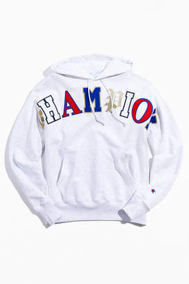 Champion Old English Hoodie Sweatshirt
