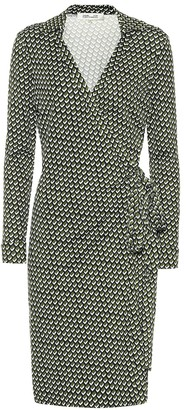 Diane von Furstenberg Jeanne Two printed silk wrap dress