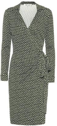 Diane von Furstenberg Jeanne Two printed silk wrap dress