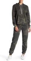 Alternative Eco Fleece Camo Zip Joggers