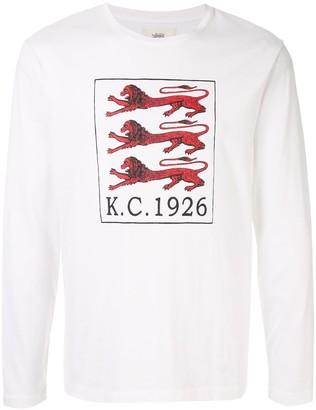 Kent & Curwen Three Lions print T-shirt