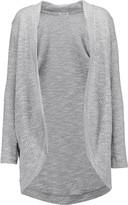 Splendid Duster metallic cotton-blend cardigan