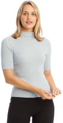 Basque Chain Stitch 3/4 Jumper Lt