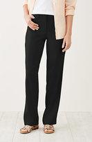 J. Jill Easy Linen-Stretch Trousers