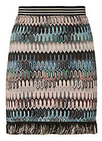 Missoni Fringe Wave Knit Skirt