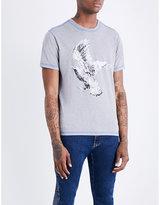 Kenzo Eagle-print Cotton-jersey T-shirt