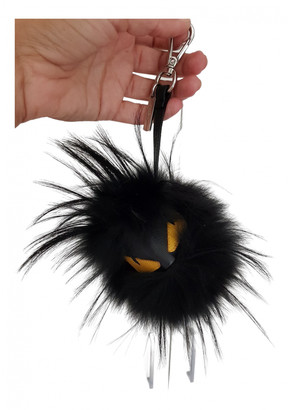 Fendi Bag Bug Black Mink Bag charms