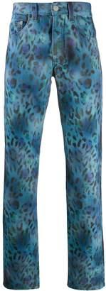 Napa By Blue-Fantas leopard print trousers