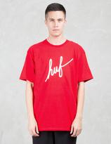 HUF Demi Script S/S T-Shirt