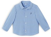 Jacadi Infant Boys' Check Print Button Down Shirt - Sizes 6-18 Months