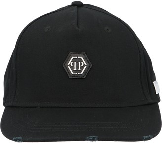 Philipp Plein Skull Embroidered Baseball Cap