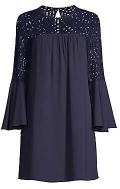 Lilly Pulitzer Women's Amenna Bell Sleeve Lace Dress - Size 0