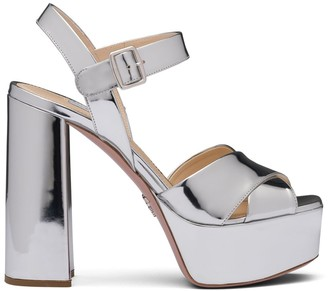 Prada Ankles Strap Platform Sandals