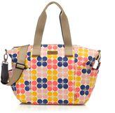 Babymel BabymelTM Evie Diaper Bag in Fruity Floral Dot