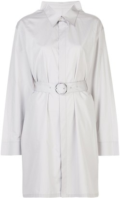 Maison Margiela belted cotton shirt dress