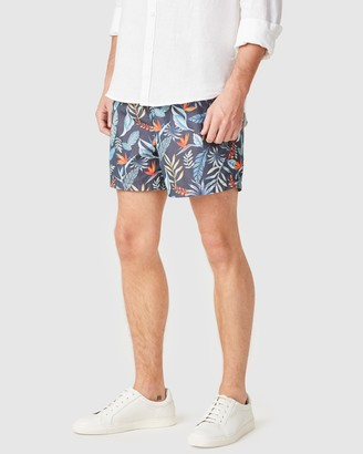 French Connection Men's Shorts - Tropical Board Shorts - Size One Size, XS at The Iconic