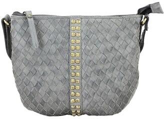 Prairie PRP102 Saddle Zip Top Crossbody Bag