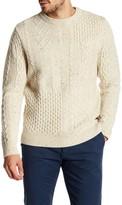 Dockers Aran Patchwork Knit Sweater