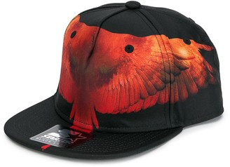 Marcelo Burlon County of Milan Kids eagle wing print baseball cap