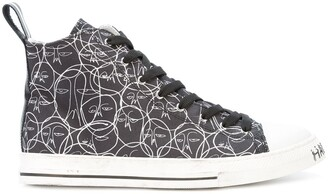 Of A Kind Haculla One hi-top sneakers