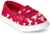 Cole Haan Toddler Girls) Electrica & White Lobsters Pinch Weekender Boat Shoes