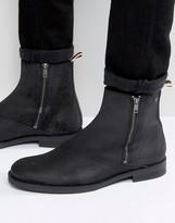 Jack & Jones Zippy Waxed Suede Boots