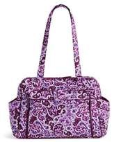 Vera Bradley Stroll Around Baby Bag in Lilac Paisley