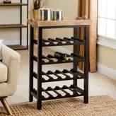 Abbyson Living® Peter 4-Tier Wine Rack in Espresso