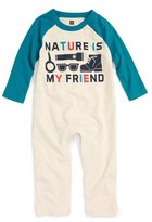 Tea Collection 'Yujin' Graphic Romper (Baby Boys)