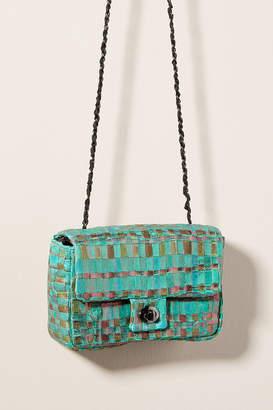 Maria La Rosa Little Woven Crossbody Bag