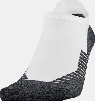 Under Armour Unisex UA Run No Show Tab 2-Pack Socks