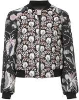 Giamba jacquard bomber jacket