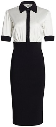 Chiara Boni Archie Bicolor Dress