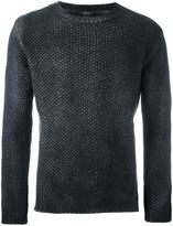 Avant Toi crew neck textured jumper