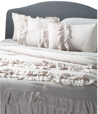 Farmhouse Chic Ruffle Comforter Set