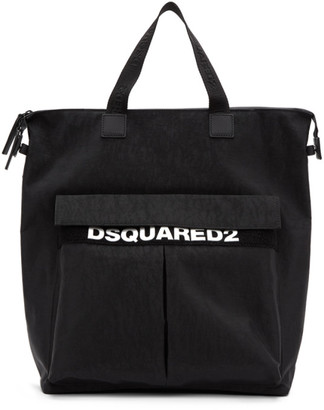 DSQUARED2 Black Military Tote