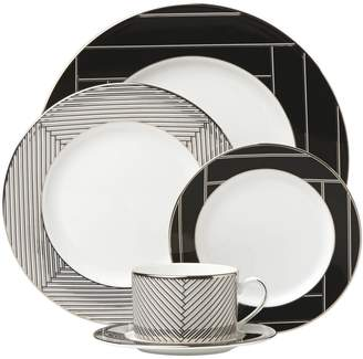 Lenox Brian Gluckstein By Winston 5-Piece Geometric Plate Setting