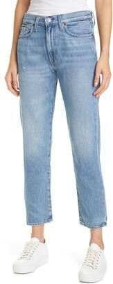 Polo Ralph Lauren Hailey Wash Avery Boyfriend Crop Jeans