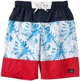 Big Chill Tie-Dye Swim Trunks - UPF 50 (For Big Boys)