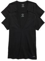 Calvin Klein Men's 2-Pack V-Neck T-Shirt