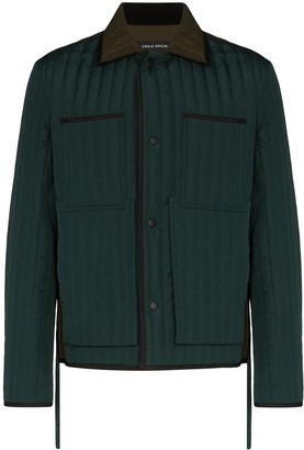 Craig Green Quilted Military Panel Jacket