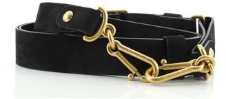 Chanel Boy Adjustable Shoulder Strap Leather