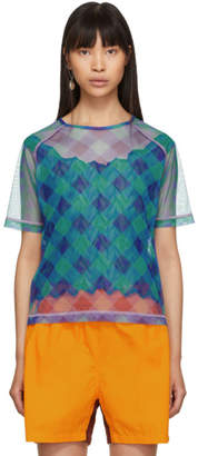 Ovelia Transtoto Blue Check SPF20 T-Shirt