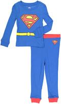 Intimo Light Blue Long-Sleeve Superman Pajama Set - Boys